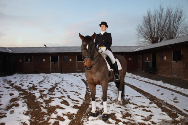 Dressage at Lea Valley Riding Centre c. Jo Sealy