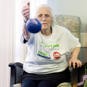 Boccia at Doreen Capstan House
