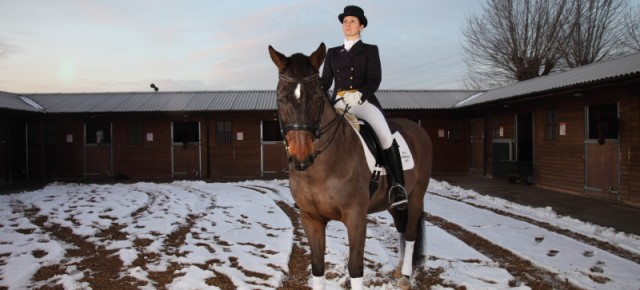 Dressage at Lea Valley Riding Centre