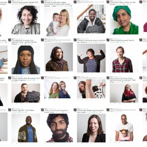 100 Plus Portraits for International Women's Day